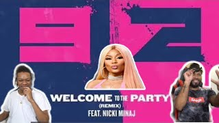 Another Barbie Banger  Pop Smoke Welcome to the Party Ft. Nicki Minaj REACTION.mp3