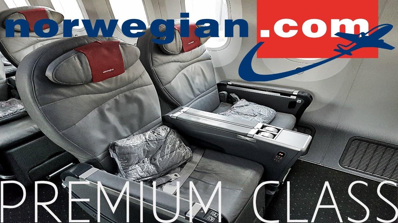 Norwegian PREMIUM CABIN Review B787