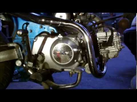 honda dax replica 50cc oilchange youtube. Black Bedroom Furniture Sets. Home Design Ideas