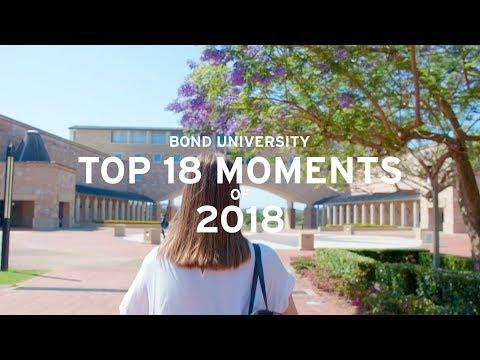 Bond University's Top 18 Moments of 2018