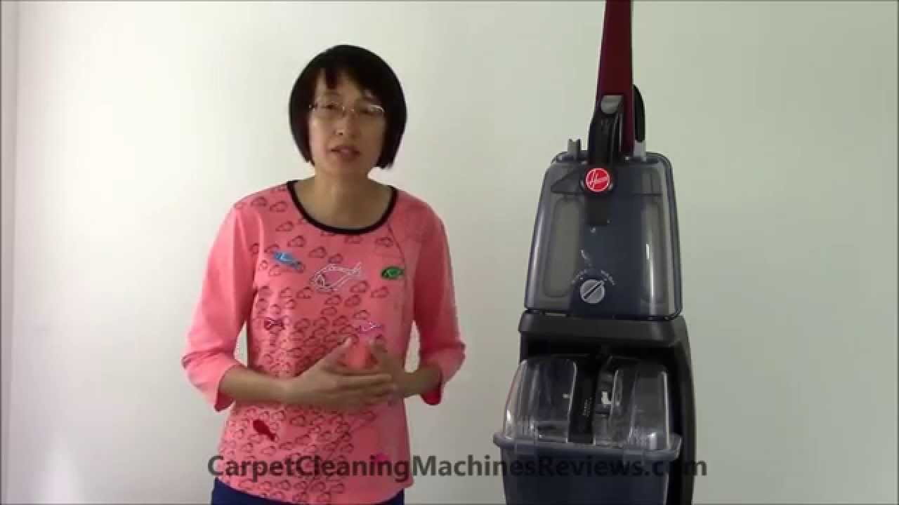 Hoover Power Scrub Deluxe Carpet Washer FH50150 Review. Carpet Cleaning Machines Reviews