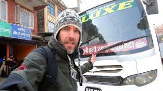 Brutal Bus Trip From Kathmandu To The Himalayas