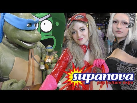 Supanova Pop Culture Expo 2017 in 4K [ COSPLAY MUSIC VIDEO ]