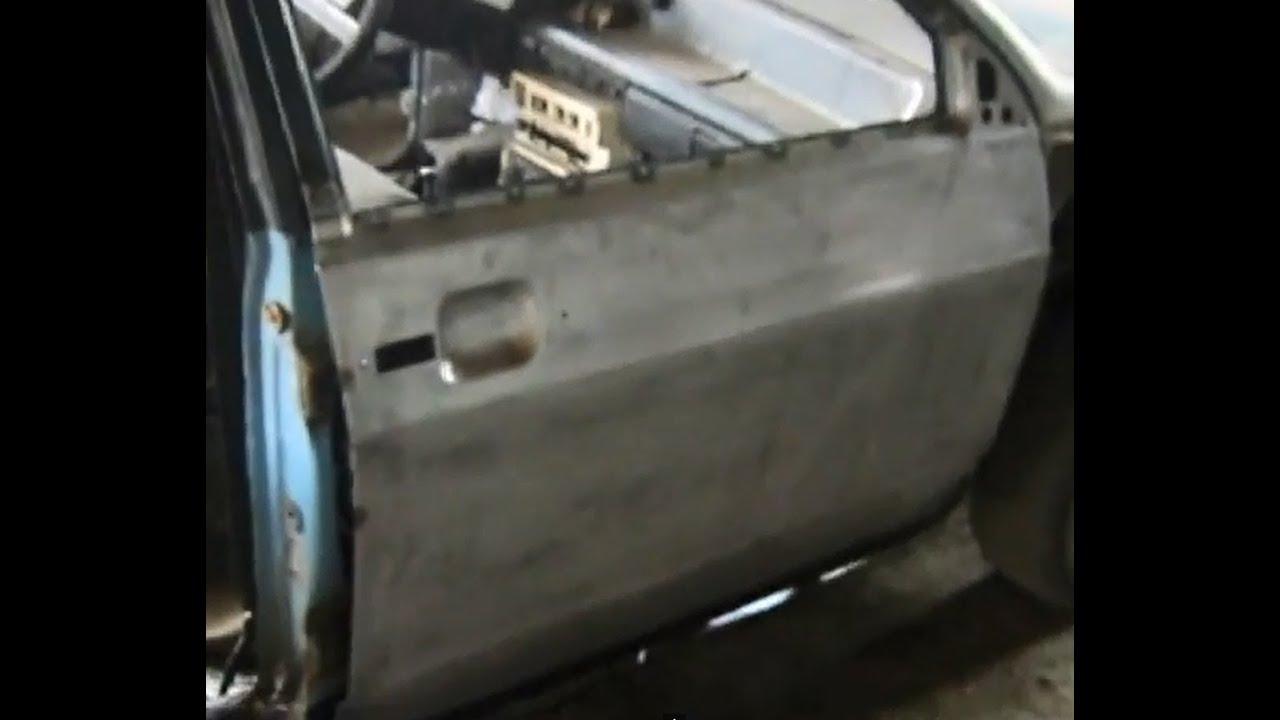 Как заменить панель передней двери ваз 09