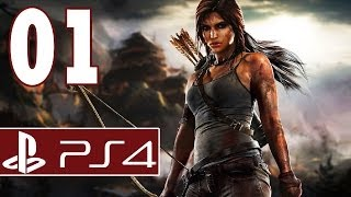 Let's Play Tomb Raider Definitive Edition PS4 Gameplay German Part 1 - Lara, jetzt noch knackiger !