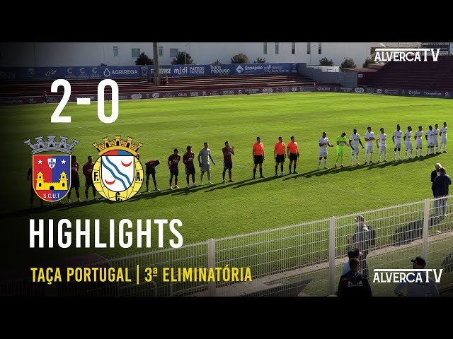 SCU Torreense 2-0 FC Alverca Highlights