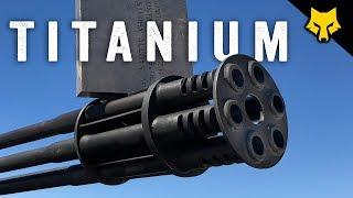 20mm Vulcan Prius vs Titanium Plate - Slow Motion