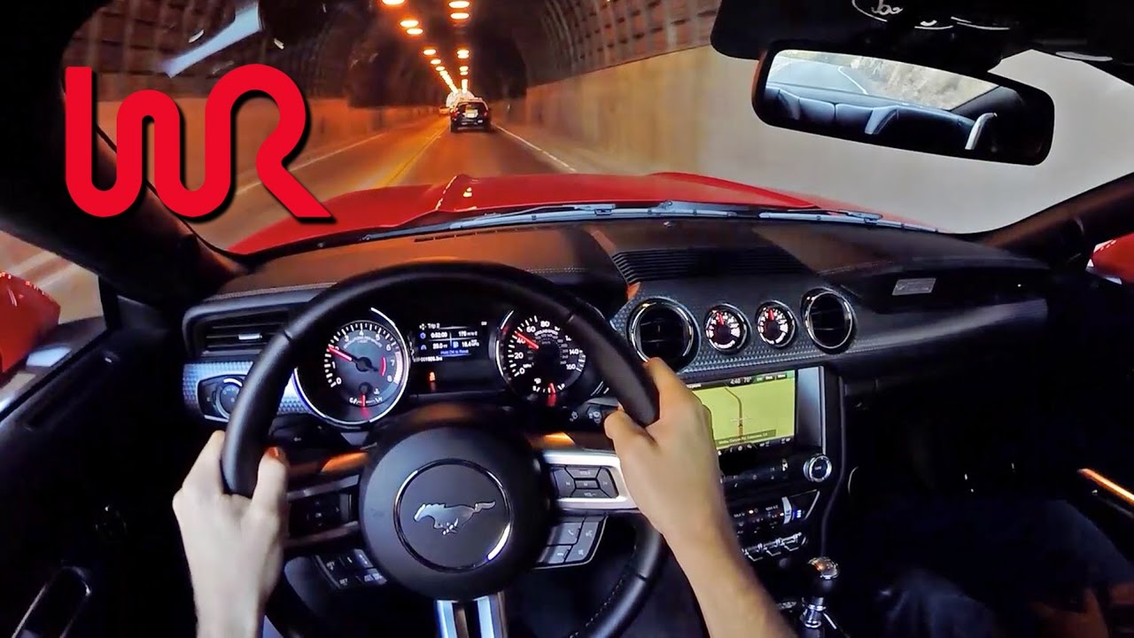 2015 ford mustang ecoboost 23l performance package wr tv pov test drive