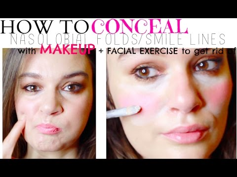 How To Cover Up Nasol Folds With Makeup