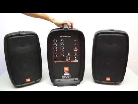 JBL EON 206P Portable PA Speaker System