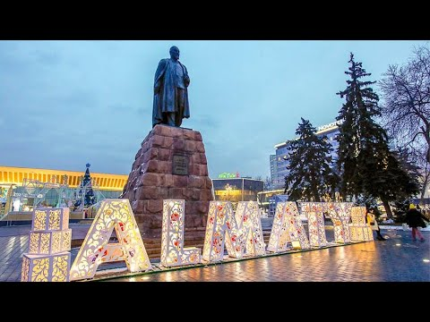 Алматы (Алма-Ата) Almaty 25.05.2016 DJI OSMO