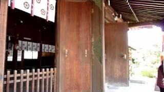 2010年4月10日、山口県萩市「松陰神社」にて撮影 Panasonic DMC-FZ38.