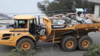 Репортаж с аварийной дамбы Оровилль в Калифорнии