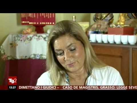 Intervista Romina Power TG2 del 26.09.2014