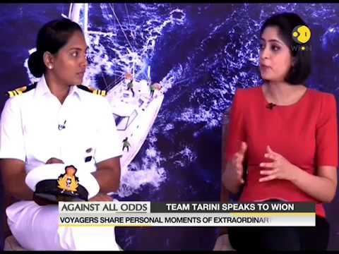 INSV team Tarini, with Navy's all-women crew speaks to WION