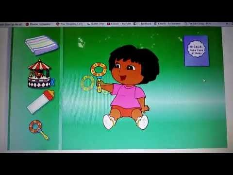 Nick jr: take care of baby Dora