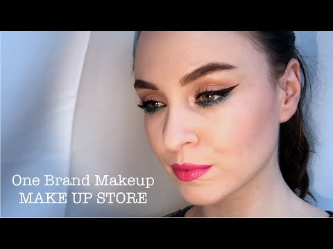 One Brand Makeup Tutorial (MAKE UP STORE)