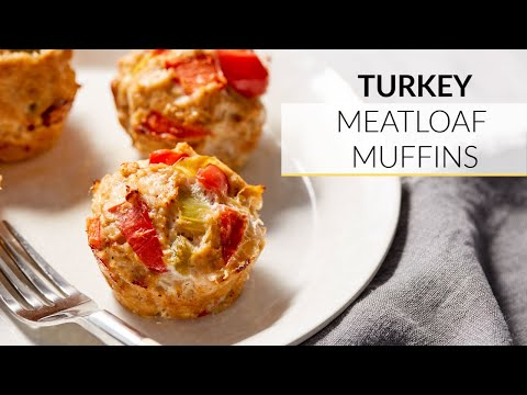 Turkey Meatloaf Muffin Recipe | Clean & Delicious