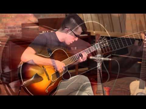 Eastman AR805CE Sunburst Archtop Guitar with Guest Jazz Guitarist Nate Huvard