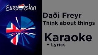 Daði Freyr - Think about things (Karaoke) Iceland Eurovision 2020