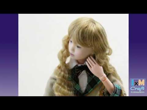 【3Dプリンタ】自分そっくり!ドール仕様フィギュアで作った動画(声あり)