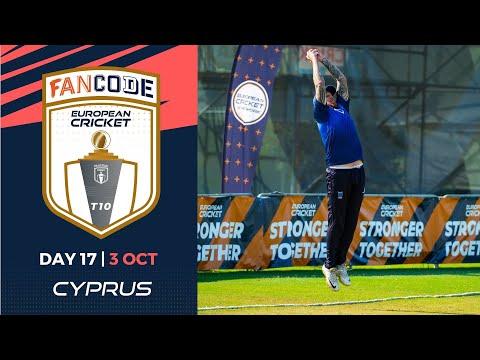 🔴 FanCode European Cricket T10 Cyprus,  Limassol | Day 17 T10 Live Cricket