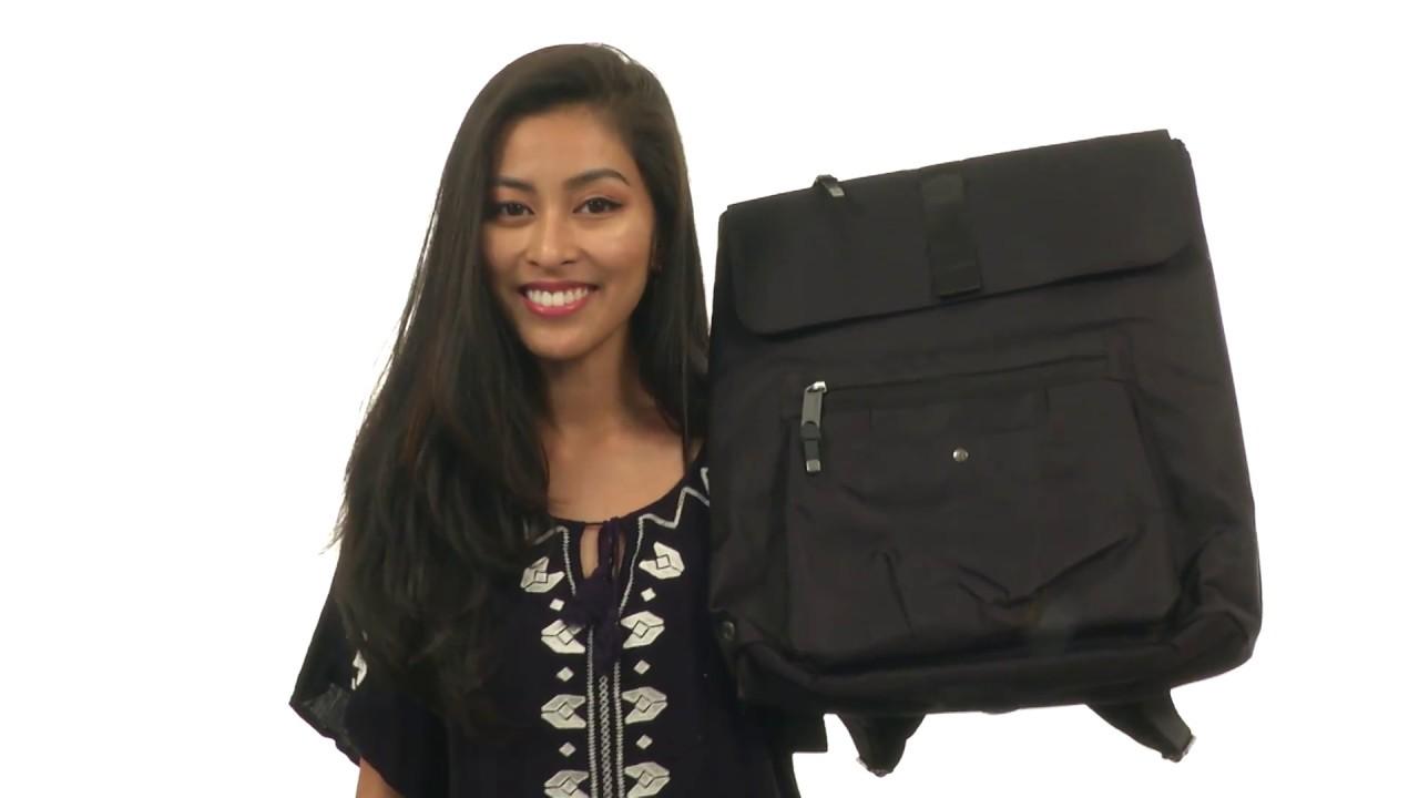 4f4de789624c Baggallini Skedaddle Laptop Backpack SKU 8875719 - YouTube