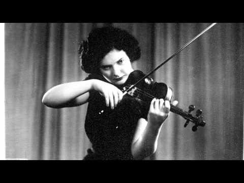 Nelli Shkolnikova plays Mendelssohn concerto (3rd mvt)