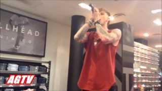 Machine Gun Kelly Performs In PacSun NYC