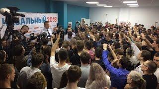 Навальный на открытии штаба в Ульяновске/часть 2 (20.05.2017)