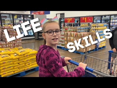 Life Skills Activities For Special Needs Students - grocery shopping and cooking