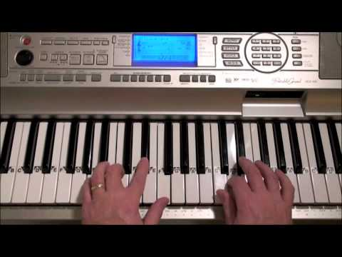 Shes Always A Woman Easy Piano Cover Youtube