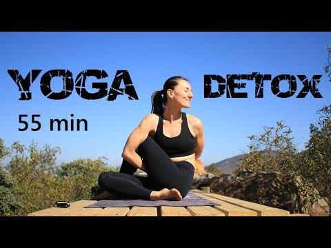 Yoga DETOX - mejorar digestion, circulacion, desintoxicar todos niveles | MalovaElena