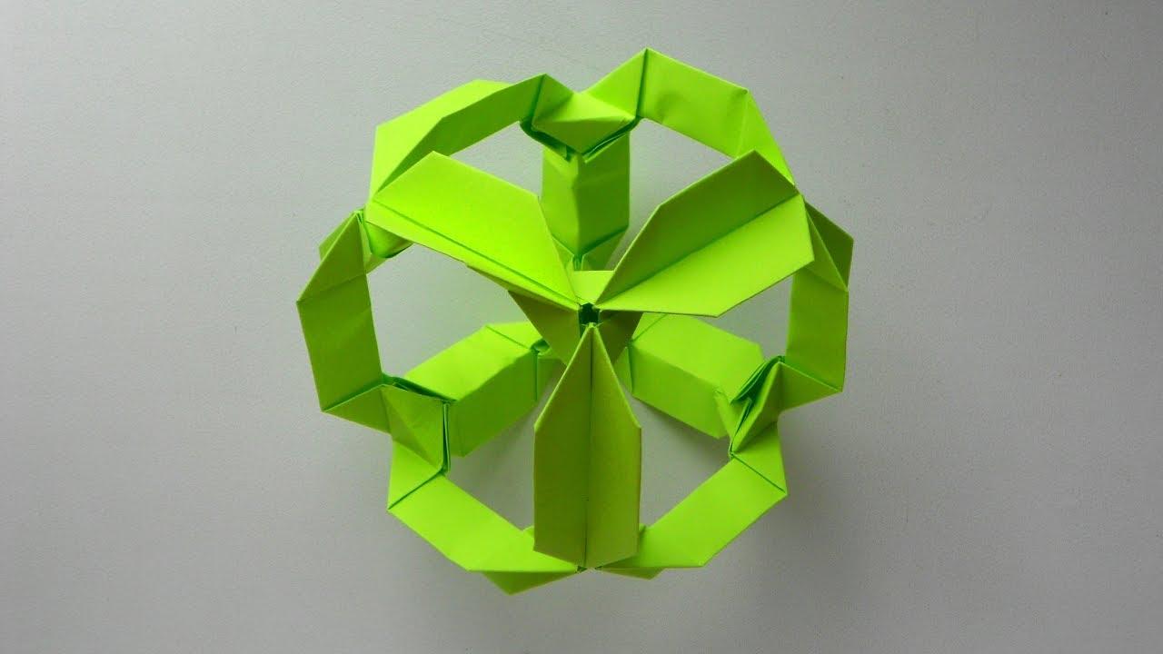 Как сделать из бумаги кубик