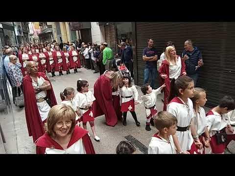 Festa de Moros i Cristians lleida 2018 ENTRADA INFANTIL