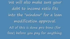 The Best Mortgage Loan Modification Program
