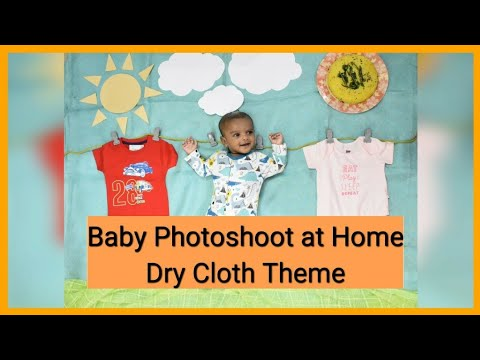 baby-photoshoot-at-home-|-dry-cloth-theme-|-diy-photography-|-monthly-baby-photoshoot-ideas