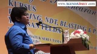 Ucapan Dato Azalina Othman - Pelancaran Kursus Yayasan Felda