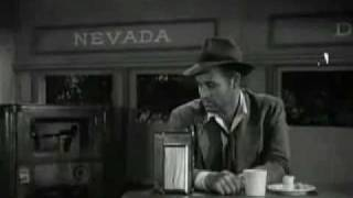 Detour - the last scene from a film noir cult classic