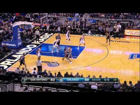 San Antonio Spurs vs Orlando Magic   February 10, 2016   NBA 2015-16 Season