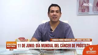 Todo lo que debes saber sobre el cáncer de próstata   Entrevista Dr. Jorge Saldaña en Atv