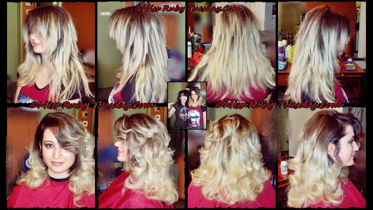 Miss Ruby Tuesday Choppy Layers Can Be Blended Layers