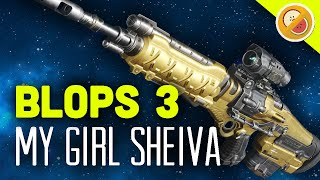 MY GIRL SHEIVA - Black Ops 3 Multiplayer Gameplay Funny Moments (Call of Duty)