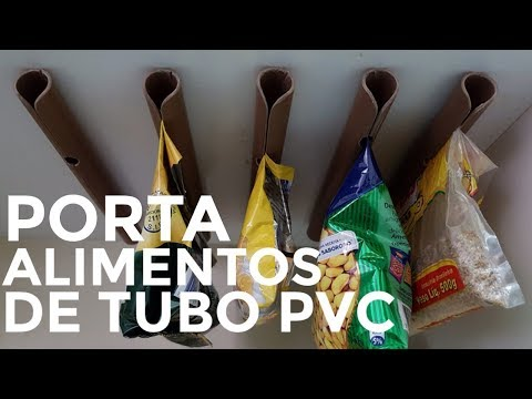COMO FECHAR EMBALAGEM DE ALIMENTOS COM TUBO DE PVC - UMA SELADORA DE ALIMENTO CASEIRA