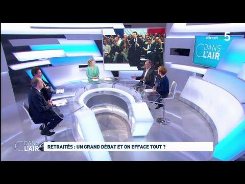 Retraités : un grand débat et on efface tout ? #cdanslair 11.03.2019
