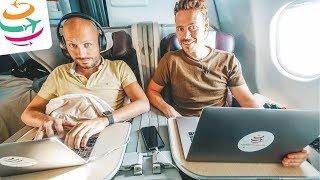 Naja... Avianca Business Class A330-300 JFK-BOG | GlobalTraveler.TV
