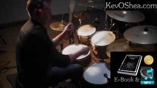 Advanced Drum Lessons | - Linear Triplet Fill (flipped)