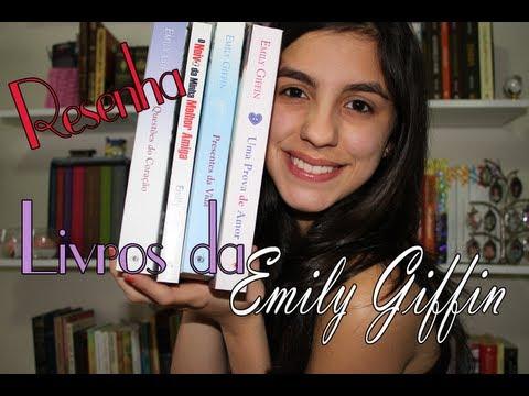 Resenha 4 livros da Emily Giffin!