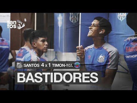 SANTOS 4 X 1 TIMON-MA | BASTIDORES | COPA SP (03/01/20)