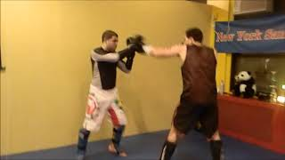 NYC Best Muay Thai sparring for beginners